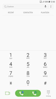 Samsung J730F Galaxy J7 (2017) (DualSIM) - Voicemail - handmatig instellen - Stap 5