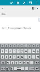 Samsung A500FU Galaxy A5 - E-mail - envoyer un e-mail - Étape 4