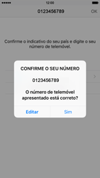 Apple iPhone 5s iOS 8 - Aplicações - Como configurar o WhatsApp -  9
