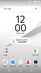 Sony Xperia Z5 - Android Nougat - WiFi and Bluetooth - Manual configuration - Step 1