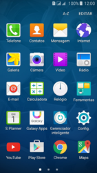 Samsung Galaxy J5 - Funções básicas - Como restaurar as configurações originais do seu aparelho - Etapa 3
