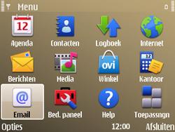 Nokia E72 - E-mail - Handmatig instellen - Stap 4