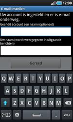 Samsung I9000 Galaxy S - E-mail - e-mail instellen: POP3 - Stap 11