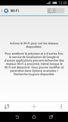HTC Desire 320 - WiFi et Bluetooth - Configuration manuelle - Étape 5