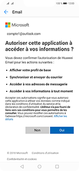 Huawei Mate 20 Lite - E-mail - 032c. Email wizard - Outlook - Étape 7