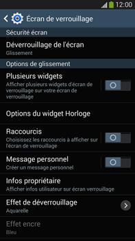 Samsung Galaxy Note 3 - Sécuriser votre mobile - Activer le code de verrouillage - Étape 6