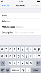 Apple iPhone 5s - iOS 12 - E-mail - Configuration manuelle - Étape 9