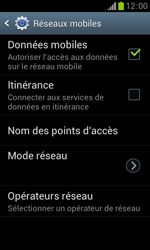 Samsung S7560 Galaxy Trend - Mms - Configuration manuelle - Étape 6
