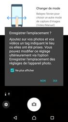 Sony Xperia XA1 - Photos, vidéos, musique - Prendre une photo - Étape 4