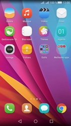 Huawei Y5 II Dual Sim - E-mails - Ajouter ou modifier votre compte Yahoo - Étape 3