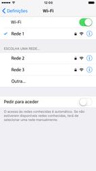 Apple iPhone 6 iOS 10 - Wi-Fi - Como ligar a uma rede Wi-Fi -  7