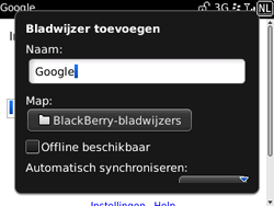 BlackBerry 9300 Curve 3G - Internet - Hoe te internetten - Stap 6