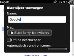 BlackBerry 9300 Curve 3G - Internet - hoe te internetten - Stap 6