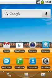 Alcatel OT-991 Smart - E-mail - Algemene uitleg - Stap 1