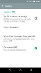HTC One A9 - Mensajería - Configurar el equipo para mensajes de texto - Paso 8