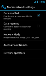 Acer Liquid Glow E330 - Network - Usage across the border - Step 11
