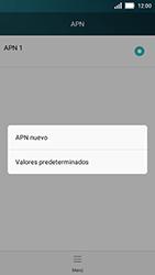 Huawei Y5 - Mensajería - Configurar el equipo para mensajes multimedia - Paso 7