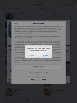 Apple iPad mini iOS 7 - Applications - Downloading applications - Step 11