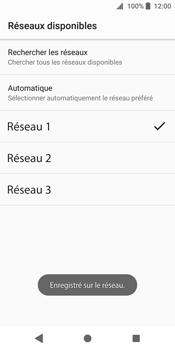 Sony Xperia XZ2 - Réseau - Sélection manuelle du réseau - Étape 11
