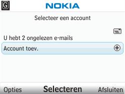 Nokia C3-00 - E-mail - Handmatig instellen - Stap 4