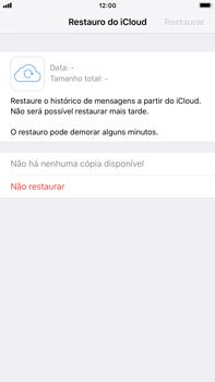 Apple iPhone 8 Plus - iOS 12 - Aplicações - Como configurar o WhatsApp -  12
