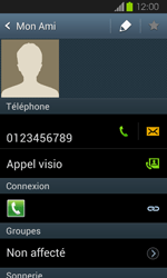 Samsung Galaxy Express - Contact, Appels, SMS/MMS - Ajouter un contact - Étape 8