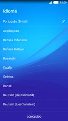 Sony Xperia M4 Aqua - Primeiros passos - Como ativar seu aparelho - Etapa 4