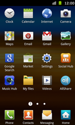 Samsung I9070 Galaxy S Advance - Internet - Manual configuration - Step 3