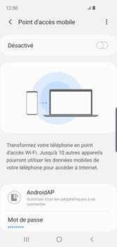 Samsung Galaxy S10e - Internet - comment configurer un point d'accès mobile - Étape 8