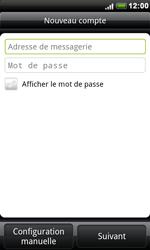HTC S510e Desire S - E-mail - Configuration manuelle - Étape 6