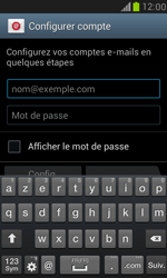 Samsung I8190 Galaxy S III Mini - E-mail - Configuration manuelle (outlook) - Étape 5