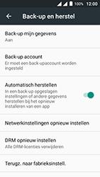 Alcatel Pixi 4 (5) 4G (5045X) - Instellingen aanpassen - Fabrieksinstellingen terugzetten - Stap 5