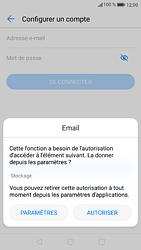 Huawei P9 - Android Nougat - E-mail - Configuration manuelle - Étape 6