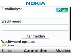 Nokia C3-00 - E-mail - Handmatig instellen - Stap 6