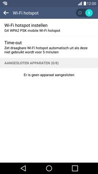 LG G4 - WiFi - Mobiele hotspot instellen - Stap 11