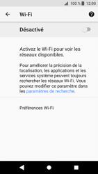 Sony Xperia XZ1 - Internet et connexion - Accéder au réseau Wi-Fi - Étape 6