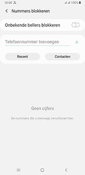 Samsung galaxy-a7-dual-sim-sm-a750fn-android-pie - Beveiliging en ouderlijk toezicht - Nummer blokkeren - Stap 7