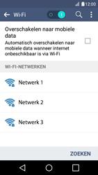 LG K4 - WiFi - Verbinden met een netwerk - Stap 7