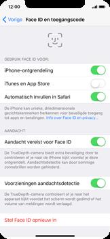 Apple iphone-x-met-ios-11-model-a1901 - Face ID en Animoji - Face ID inschakelen - Stap 12