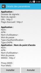 Huawei Ascend Y625 - Paramètres - Reçus par SMS - Étape 6