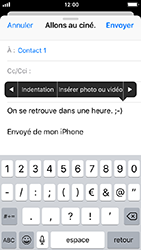 Apple iPhone 5s - iOS 12 - E-mail - envoyer un e-mail - Étape 9