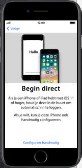 Apple iPhone 6s met iOS 11 (Model A1688) - Instellingen aanpassen - Activeer het toestel en herstel jouw iCloud-data - Stap 9