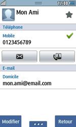 Samsung Wave 723 - Contact, Appels, SMS/MMS - Ajouter un contact - Étape 15