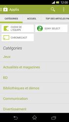 Sony Xpéria Z - Applications - Télécharger une application - Étape 6