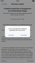 Apple iPhone 6s iOS 10 - Applications - Créer un compte - Étape 11