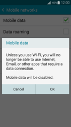 Samsung A300FU Galaxy A3 - Internet - Disable mobile data - Step 7