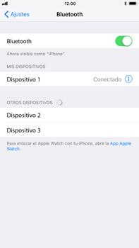 Apple iPhone 8 Plus - Bluetooth - Conectar dispositivos a través de Bluetooth - Paso 6