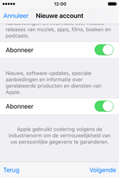 Apple iPhone 4S (iOS 9) - apps - account instellen - stap 18