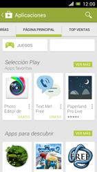 Sony Xperia J - Aplicaciones - Descargar aplicaciones - Paso 6