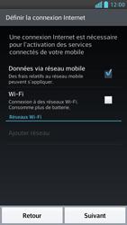 LG Optimus F6 - Premiers pas - Créer un compte - Étape 3